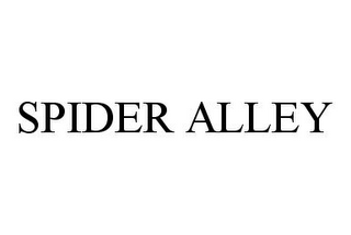 mark for SPIDER ALLEY, trademark #78392650