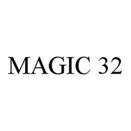 mark for MAGIC 32, trademark #78393490
