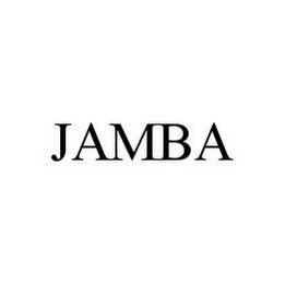 mark for JAMBA, trademark #78394401