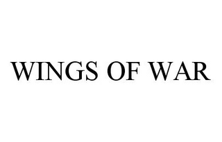 mark for WINGS OF WAR, trademark #78396080