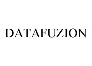 mark for DATAFUZION, trademark #78396281