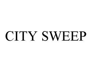 mark for CITY SWEEP, trademark #78396293