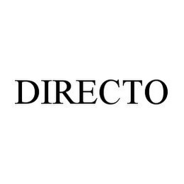 mark for DIRECTO, trademark #78396674