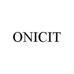 mark for ONICIT, trademark #78397327