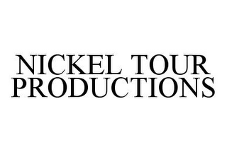 mark for NICKEL TOUR PRODUCTIONS, trademark #78397429