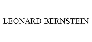 mark for LEONARD BERNSTEIN, trademark #78397782