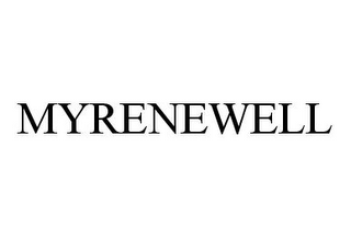 mark for MYRENEWELL, trademark #78398880