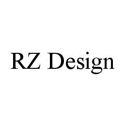 mark for RZ DESIGN, trademark #78399143