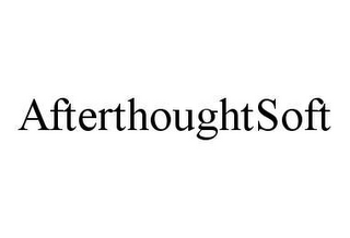 mark for AFTERTHOUGHTSOFT, trademark #78399219