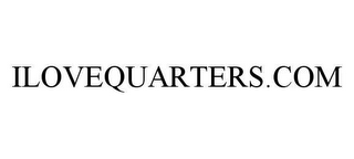 mark for ILOVEQUARTERS.COM, trademark #78399690