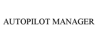 mark for AUTOPILOT MANAGER, trademark #78399748