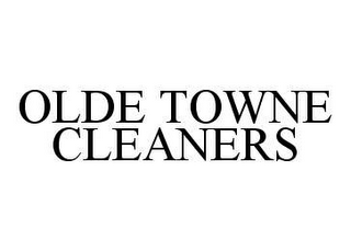 mark for OLDE TOWNE CLEANERS, trademark #78400408