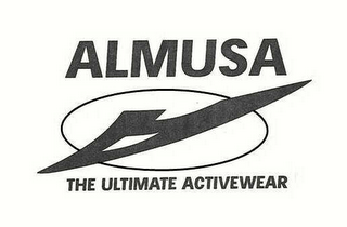 mark for ALMUSA THE ULTIMATE ACTIVEWEAR, trademark #78400600