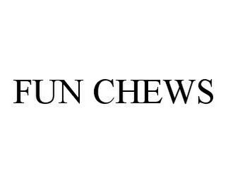 mark for FUN CHEWS, trademark #78401083