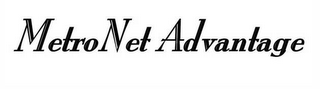 mark for METRONET ADVANTAGE, trademark #78401560
