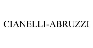 mark for CIANELLI-ABRUZZI, trademark #78403323