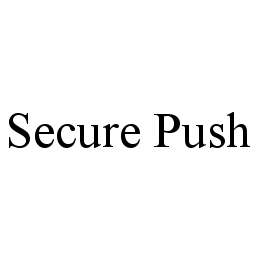 mark for SECURE PUSH, trademark #78403740
