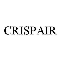 mark for CRISPAIR, trademark #78404158
