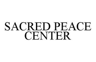 mark for SACRED PEACE CENTER, trademark #78404979
