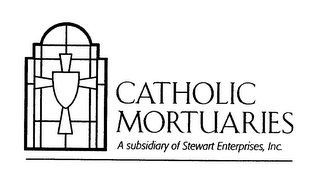 mark for CATHOLIC MORTUARIES A SUBSIDIARY OF STEWART ENTERPRISE, INC., trademark #78404982