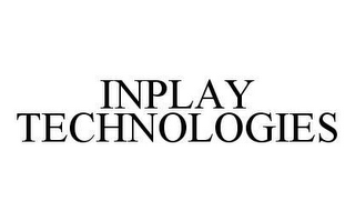 mark for INPLAY TECHNOLOGIES, trademark #78405622