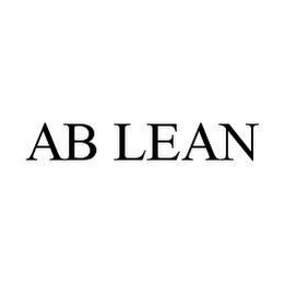 mark for AB LEAN, trademark #78405986