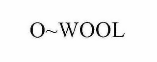 mark for O~WOOL, trademark #78406158
