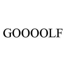 mark for GOOOOLF, trademark #78406763