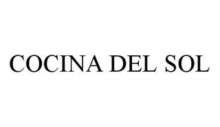 mark for COCINA DEL SOL, trademark #78406764