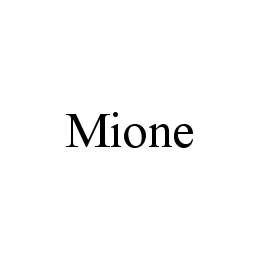 mark for MIONE, trademark #78407647