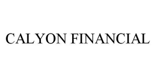 mark for CALYON FINANCIAL, trademark #78407969