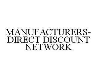 mark for MANUFACTURERS-DIRECT DISCOUNT NETWORK, trademark #78408459
