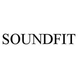 mark for SOUNDFIT, trademark #78408774