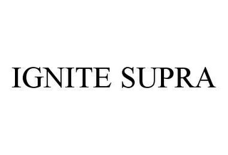 mark for IGNITE SUPRA, trademark #78408783