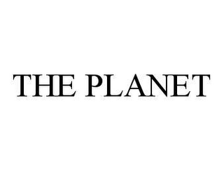 mark for THE PLANET, trademark #78409216