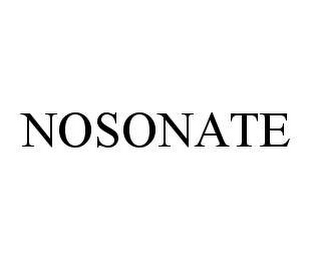 mark for NOSONATE, trademark #78409230
