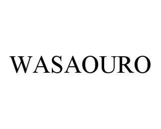 mark for WASAOURO, trademark #78409665
