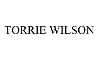 mark for TORRIE WILSON, trademark #78410434