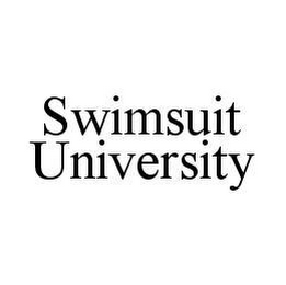 mark for SWIMSUIT UNIVERSITY, trademark #78410765
