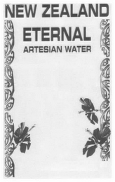 mark for NEW ZEALAND ETERNAL ARTESIAN WATER, trademark #78410825