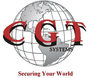 mark for C G T SYSTEMS SECURING YOUR WORLD, trademark #78412736
