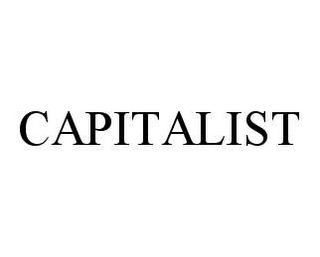 mark for CAPITALIST, trademark #78412847