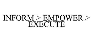 mark for INFORM > EMPOWER > EXECUTE, trademark #78413364