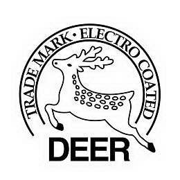mark for DEER TRADEMARK ELECTRO COATED, trademark #78414374