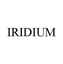 mark for IRIDIUM, trademark #78414412