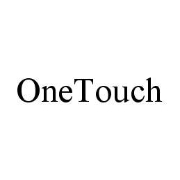 mark for ONETOUCH, trademark #78414565