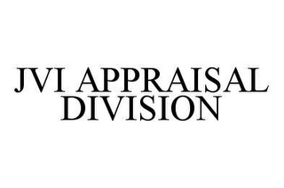 mark for JVI APPRAISAL DIVISION, trademark #78414967