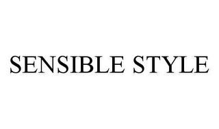 mark for SENSIBLE STYLE, trademark #78415066