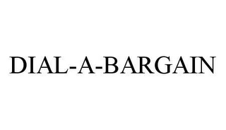 mark for DIAL-A-BARGAIN, trademark #78415321