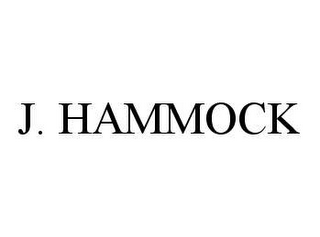 mark for J. HAMMOCK, trademark #78415595